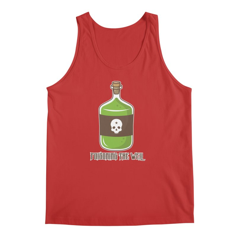 Classic Bottle of Poison Men's Regular Tank by Poisoning the Well Swag Shop