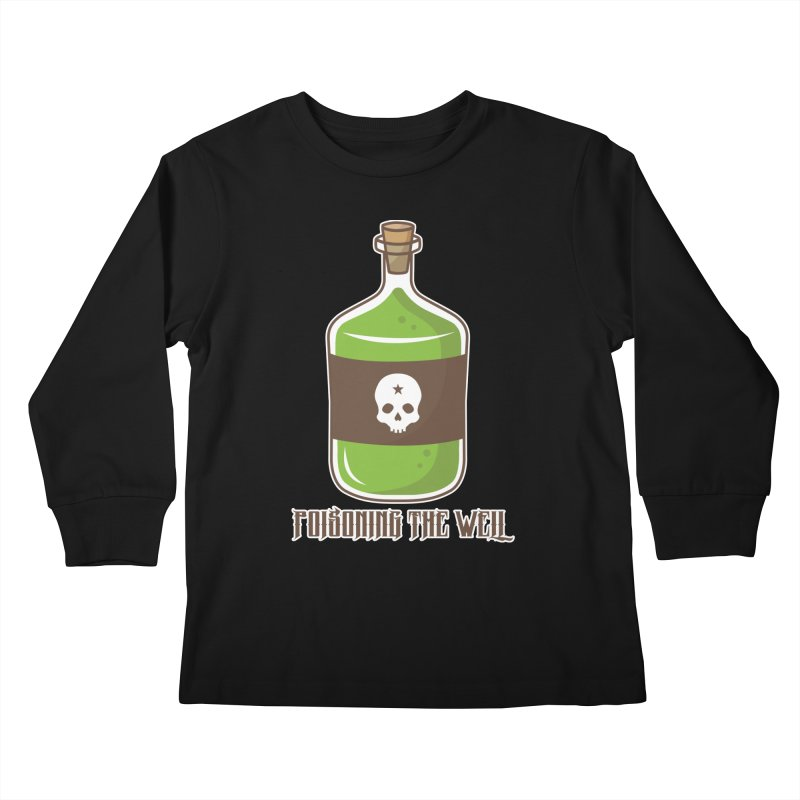 Classic Bottle of Poison Kids Longsleeve T-Shirt by Poisoning the Well Swag Shop