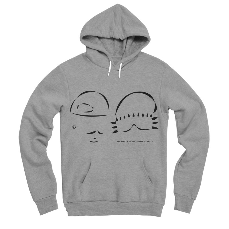 Give Us Headlines (Black) Women's Sponge Fleece Pullover Hoody by Poisoning the Well Swag Shop