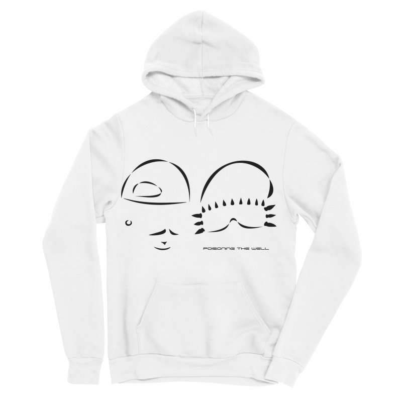 Give Us Headlines (Black) Men's Sponge Fleece Pullover Hoody by Poisoning the Well Swag Shop