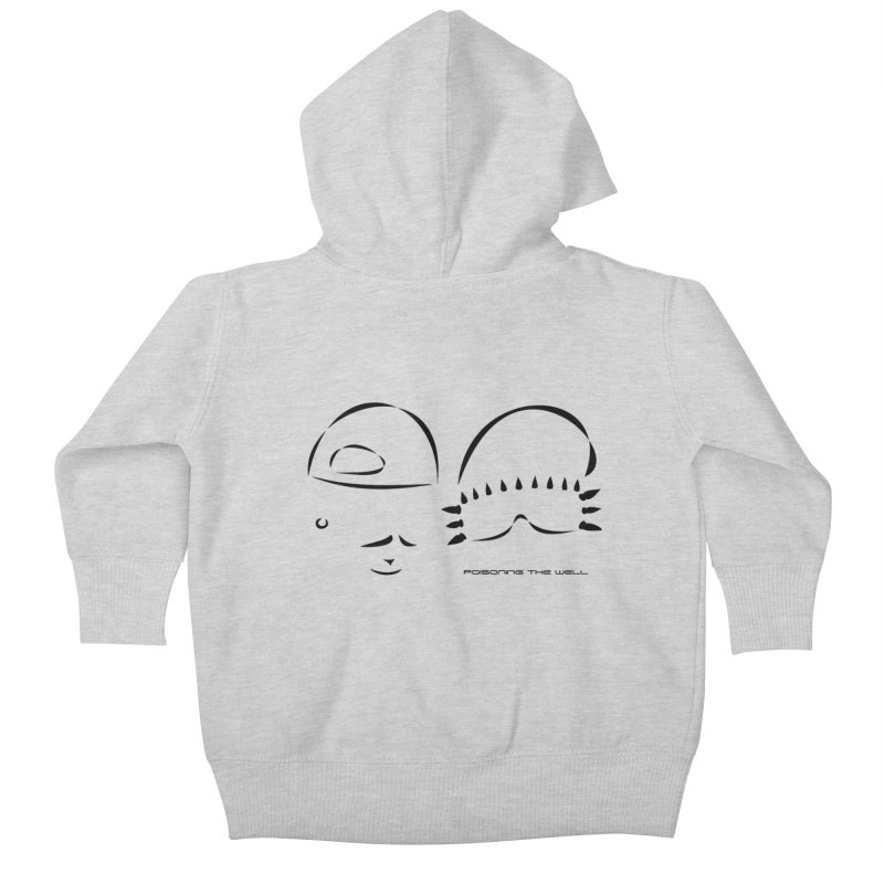 Give Us Headlines (Black) Kids Baby Zip-Up Hoody by Poisoning the Well Swag Shop
