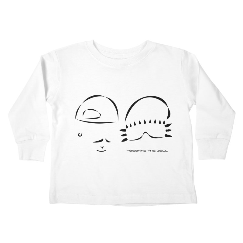 Give Us Headlines (Black) Kids Toddler Longsleeve T-Shirt by Poisoning the Well Swag Shop