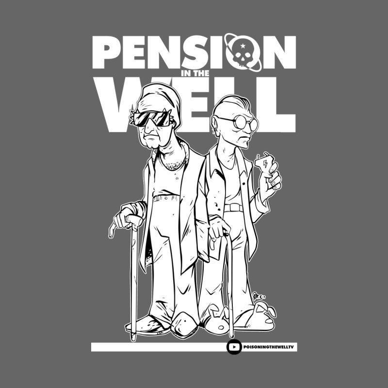 Pension in the Well (White Print)   by Poisoning the Well Swag Shop