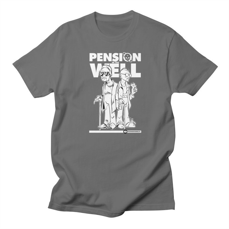 Pension in the Well (White Print) Men's T-Shirt by Poisoning the Well Swag Shop