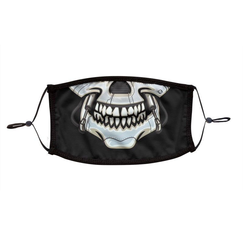 Super Spoopy Accessories Face Mask by Poisoning the Well Swag Shop