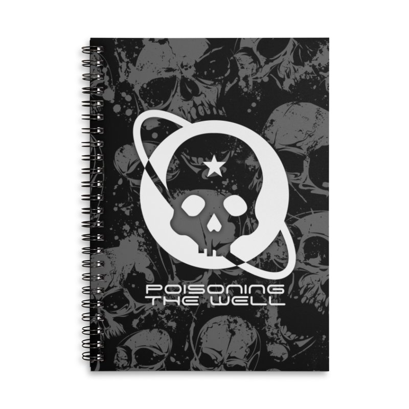 Super Spoopy Accessories Lined Spiral Notebook by Poisoning the Well Swag Shop