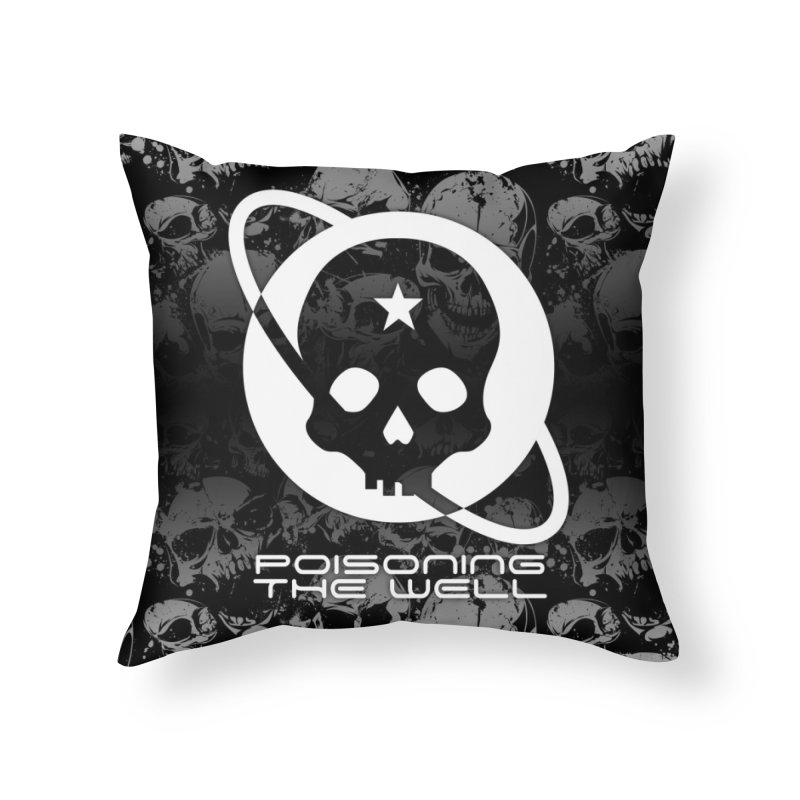 Super Spoopy Home Throw Pillow by Poisoning the Well Swag Shop