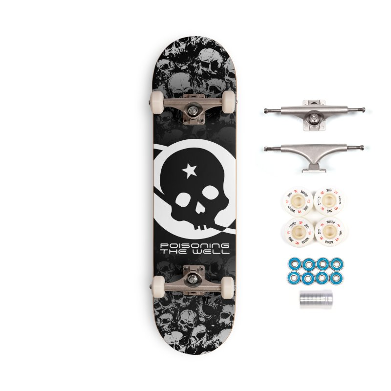 Super Spoopy Accessories Complete - Premium Skateboard by Poisoning the Well Swag Shop