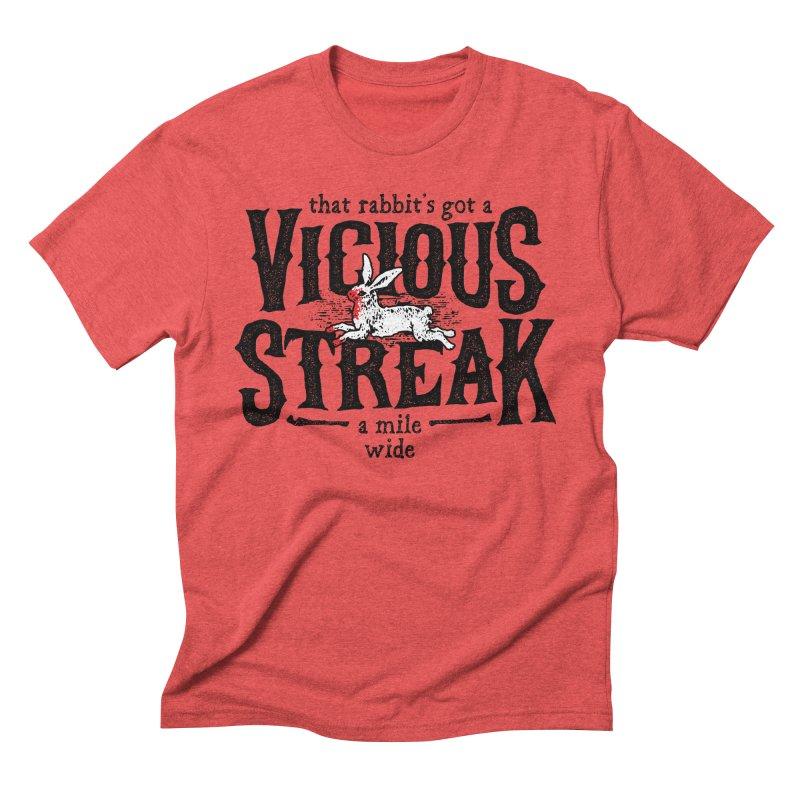 Vicious Streak Men's Triblend T-Shirt by pufahl's Artist Shop