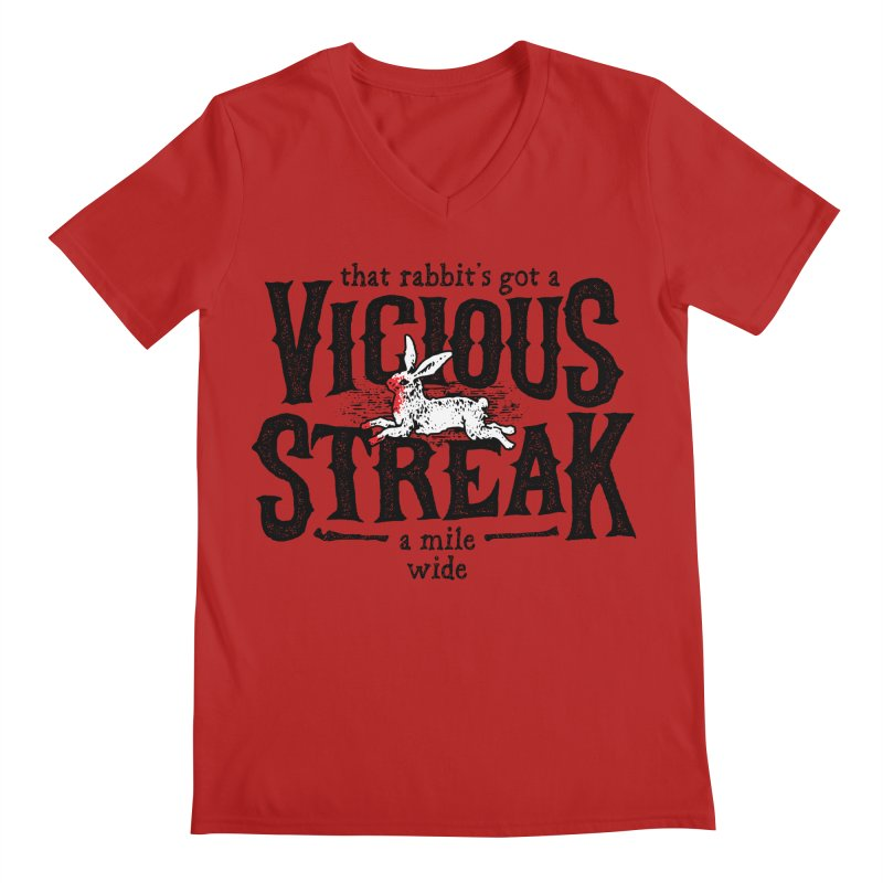 Vicious Streak Men's V-Neck by pufahl's Artist Shop