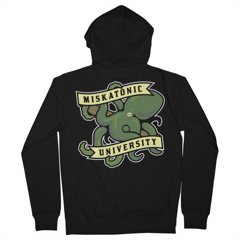 Miskatonic University Women's Zip-Up Hoody by pufahl's Artist Shop