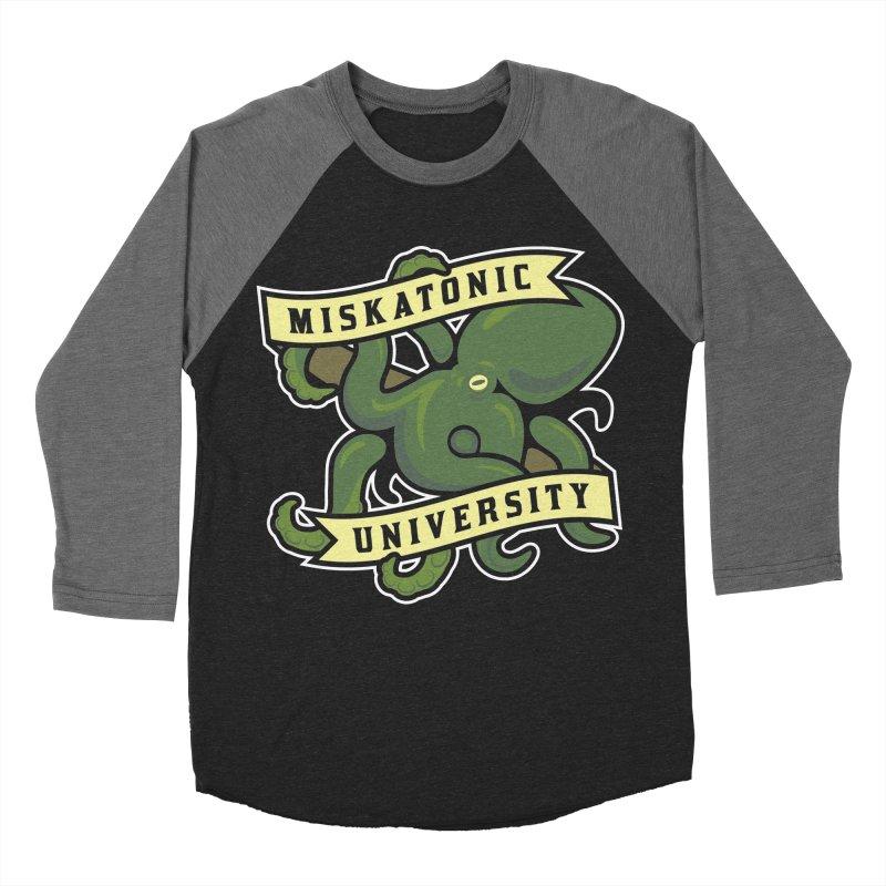 Miskatonic University Women's Baseball Triblend T-Shirt by pufahl's Artist Shop