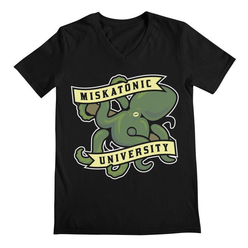 Miskatonic University Men's V-Neck by pufahl's Artist Shop