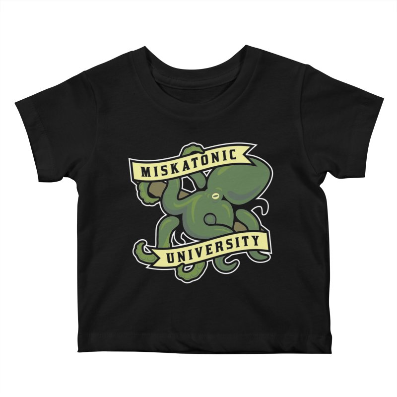 Miskatonic University Kids Baby T-Shirt by pufahl's Artist Shop