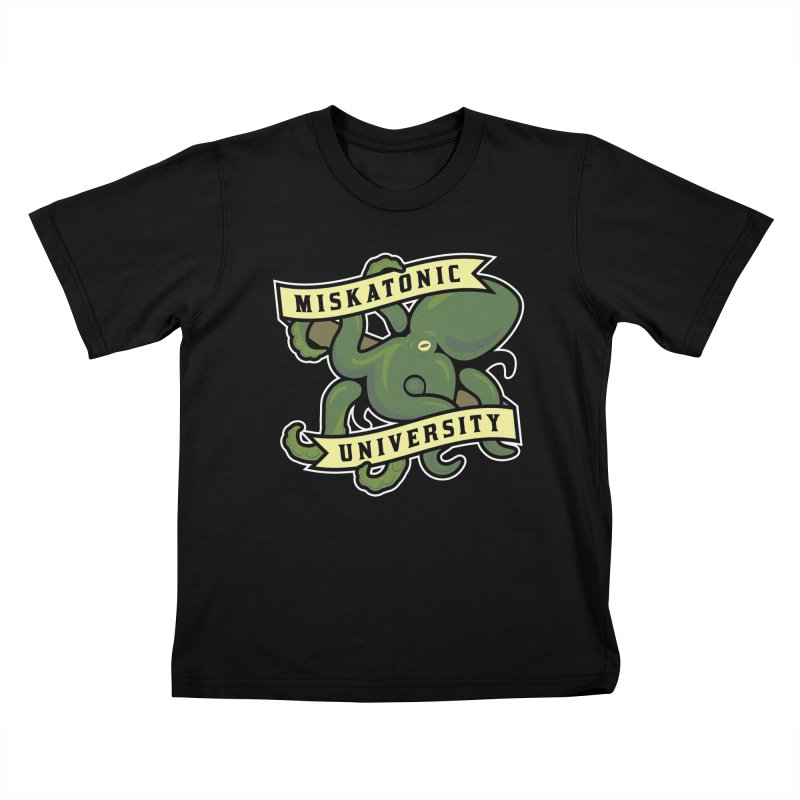 Miskatonic University Kids T-shirt by pufahl's Artist Shop
