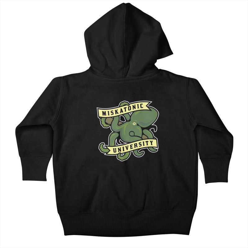 Miskatonic University Kids Baby Zip-Up Hoody by pufahl's Artist Shop