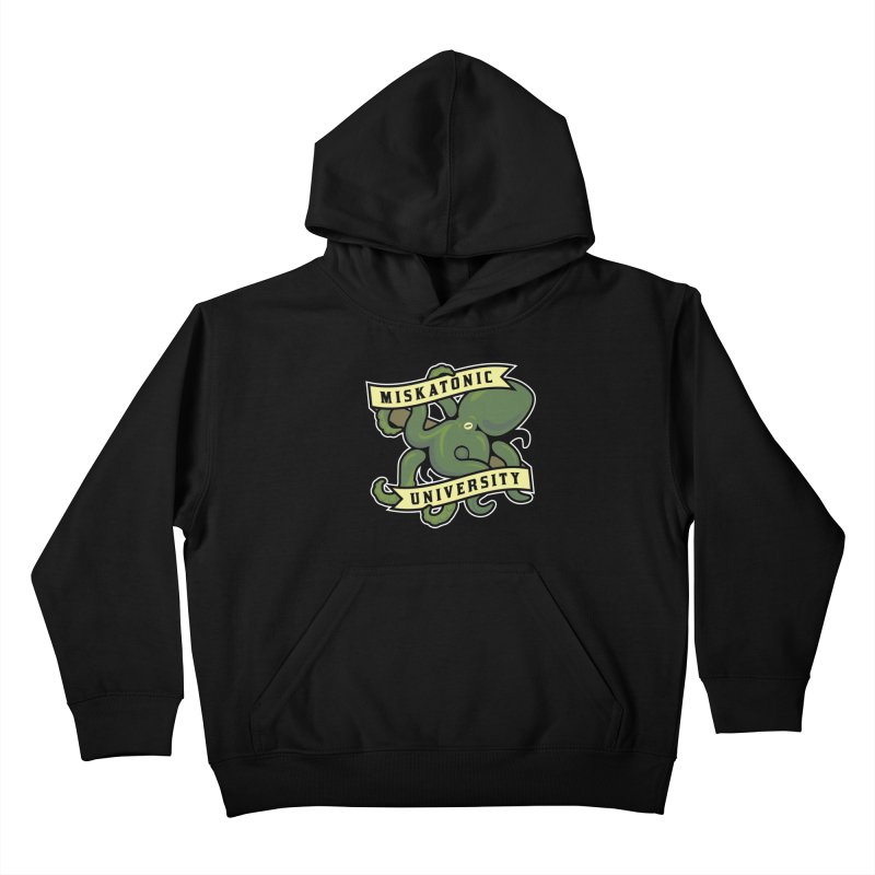 Miskatonic University Kids Pullover Hoody by pufahl's Artist Shop