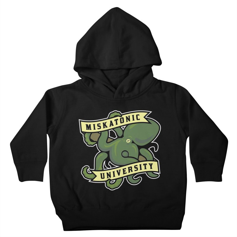 Miskatonic University Kids Toddler Pullover Hoody by pufahl's Artist Shop