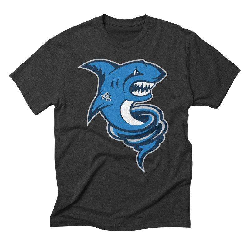LA Sharknadoes Men's Triblend T-Shirt by pufahl's Artist Shop