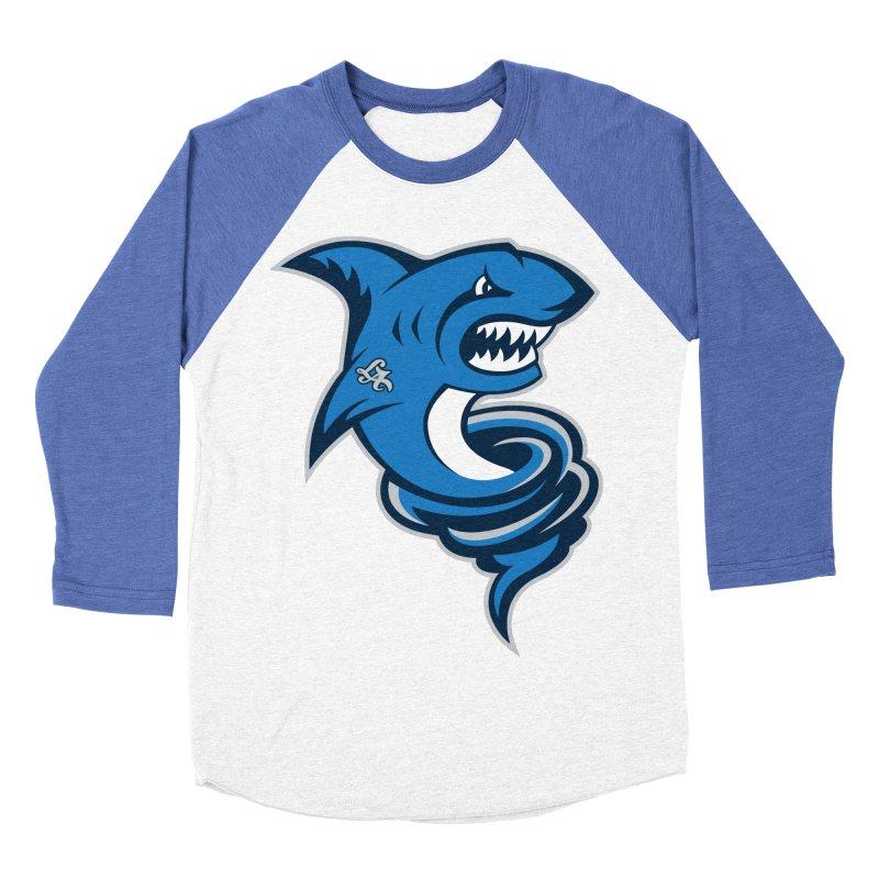 LA Sharknadoes Women's Baseball Triblend T-Shirt by pufahl's Artist Shop