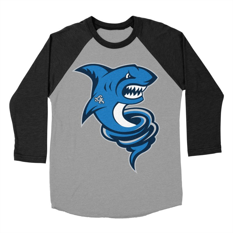 LA Sharknadoes Men's Baseball Triblend T-Shirt by pufahl's Artist Shop