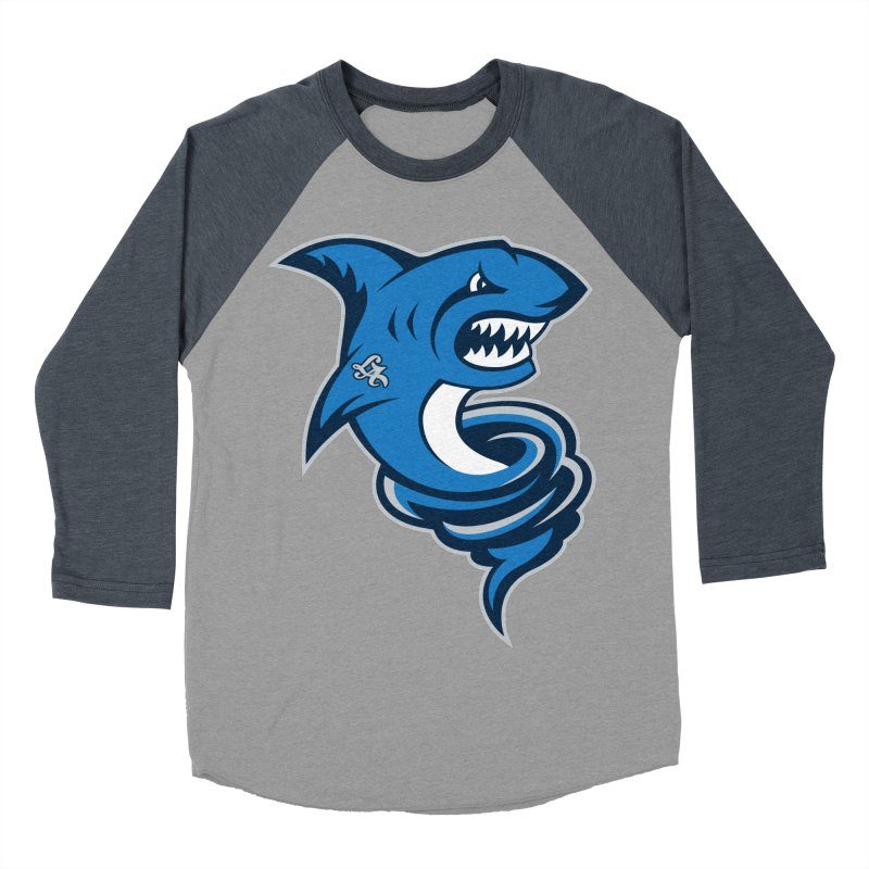 LA Sharknadoes Men's Baseball Triblend T-Shirt by pufahl's Artist Shop