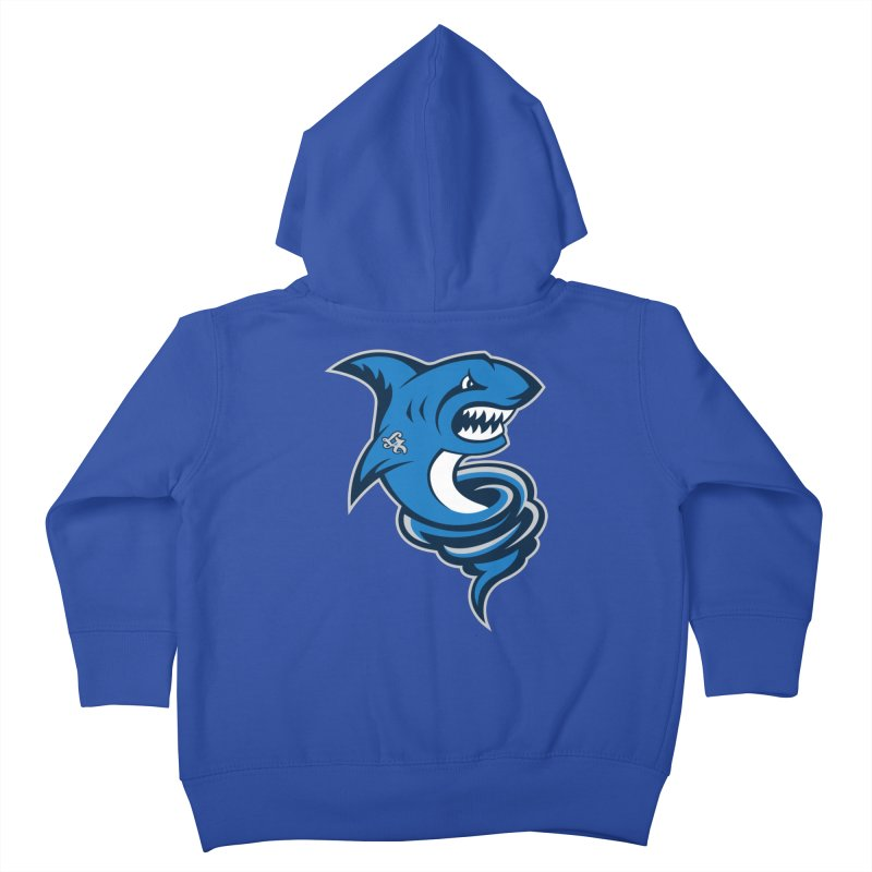 LA Sharknadoes Kids Toddler Zip-Up Hoody by pufahl's Artist Shop