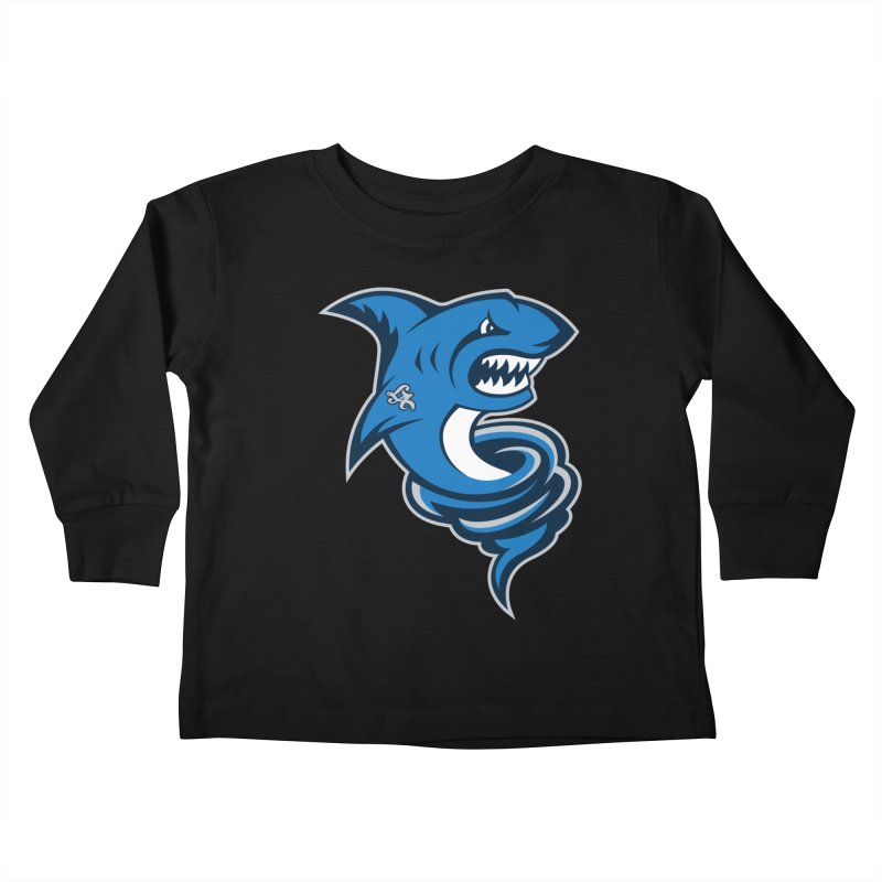 LA Sharknadoes Kids Toddler Longsleeve T-Shirt by pufahl's Artist Shop