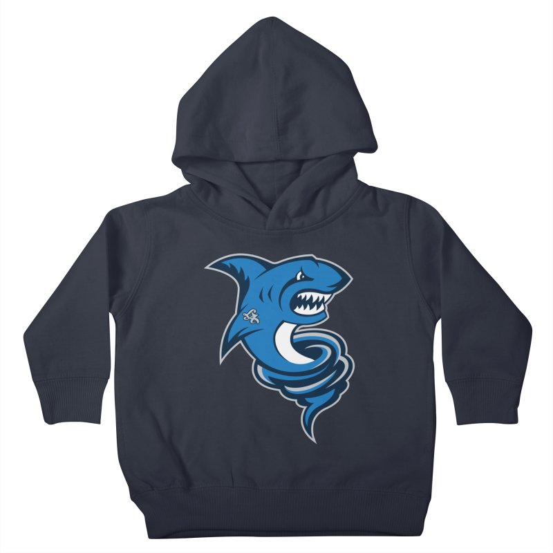 LA Sharknadoes Kids Toddler Pullover Hoody by pufahl's Artist Shop