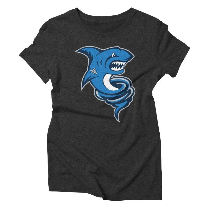 LA Sharknadoes Women's Triblend T-Shirt by pufahl's Artist Shop