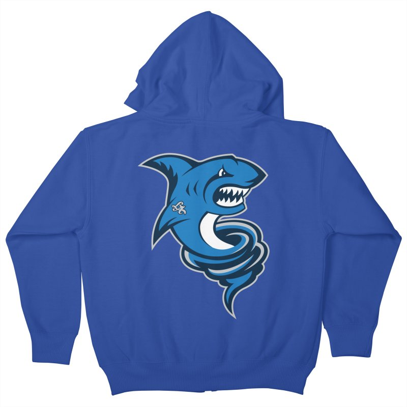 LA Sharknadoes Kids Zip-Up Hoody by pufahl's Artist Shop