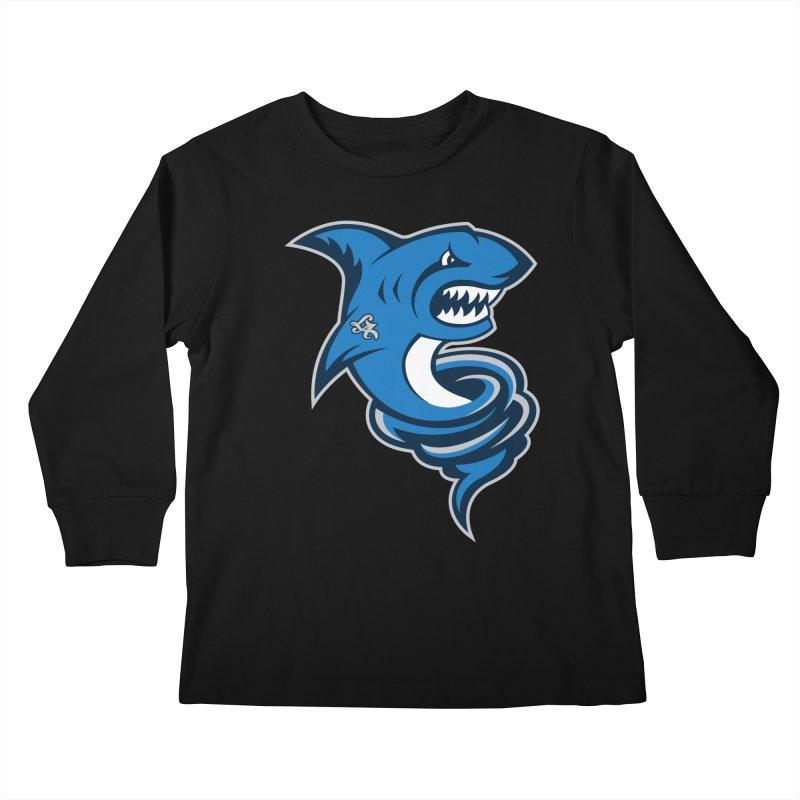 LA Sharknadoes Kids Longsleeve T-Shirt by pufahl's Artist Shop