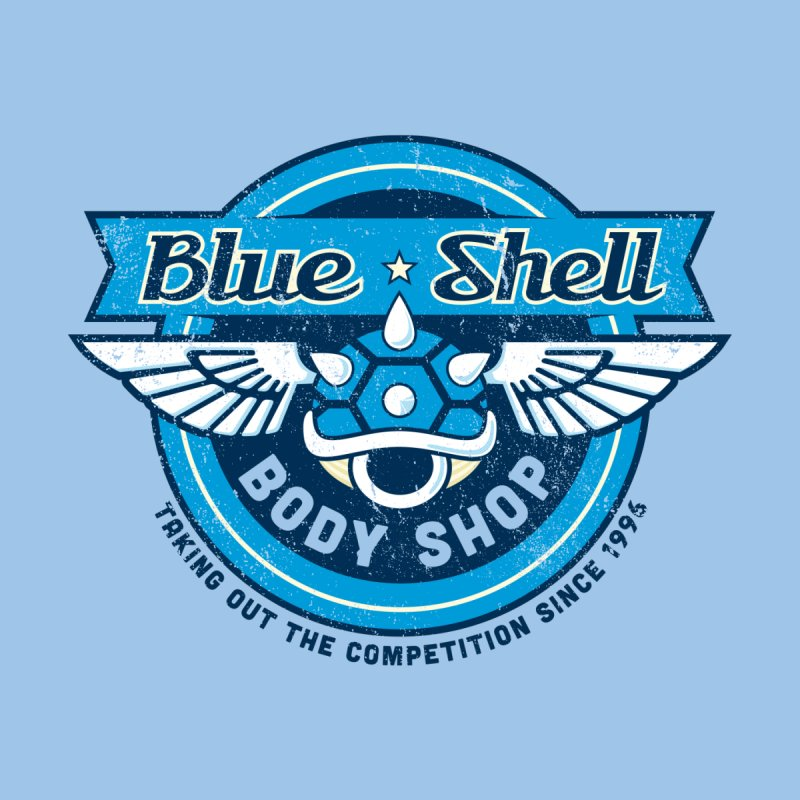 Blue Shell Auto Body by pufahl's Artist Shop