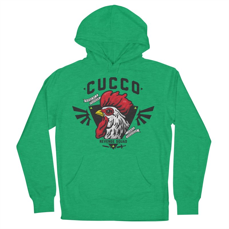 Cucco Revenge Squad Women's Pullover Hoody by pufahl's Artist Shop