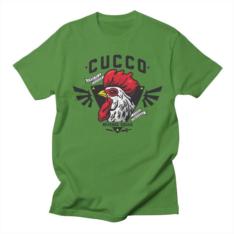 Cucco Revenge Squad Men's T-shirt by pufahl's Artist Shop
