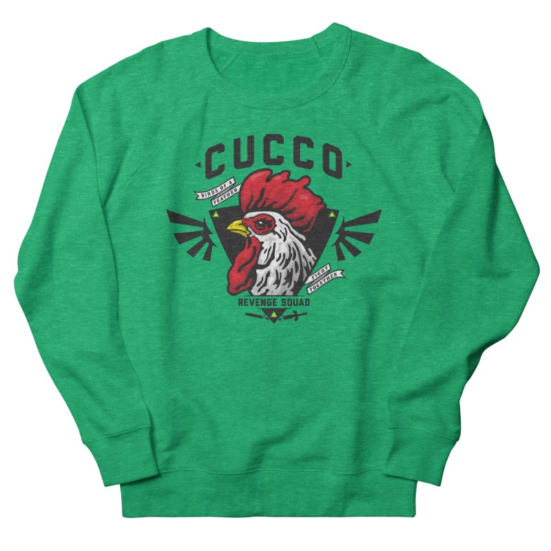 Cucco Revenge Squad Women's Sweatshirt by pufahl's Artist Shop