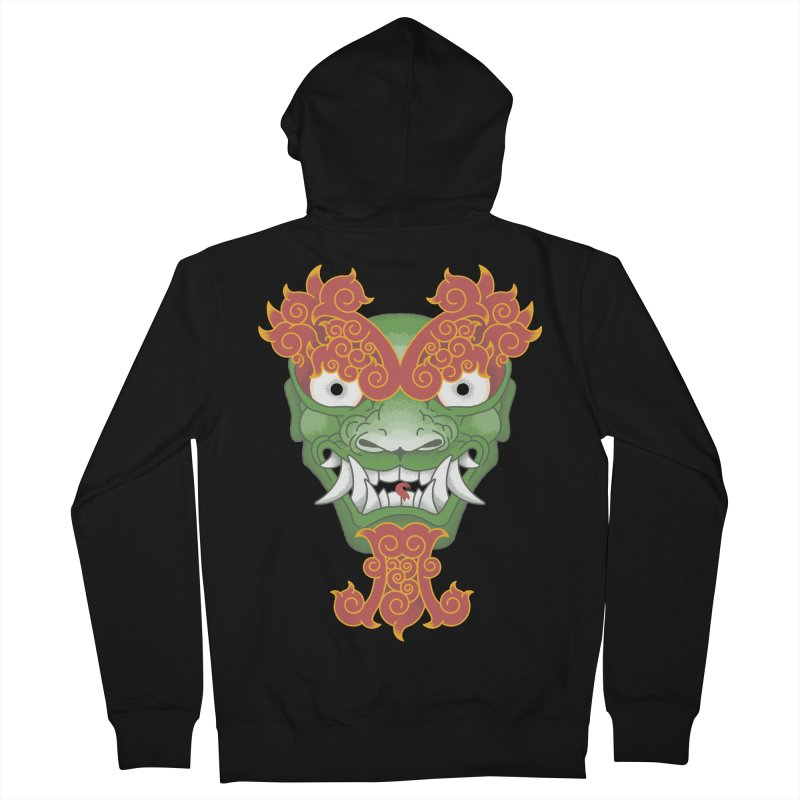 Shape Shifting Master of Darkness Women's Zip-Up Hoody by pufahl's Artist Shop