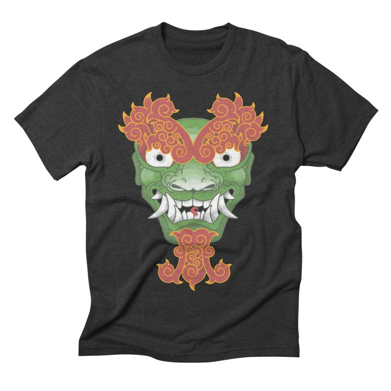 Shape Shifting Master of Darkness Men's Triblend T-shirt by pufahl's Artist Shop