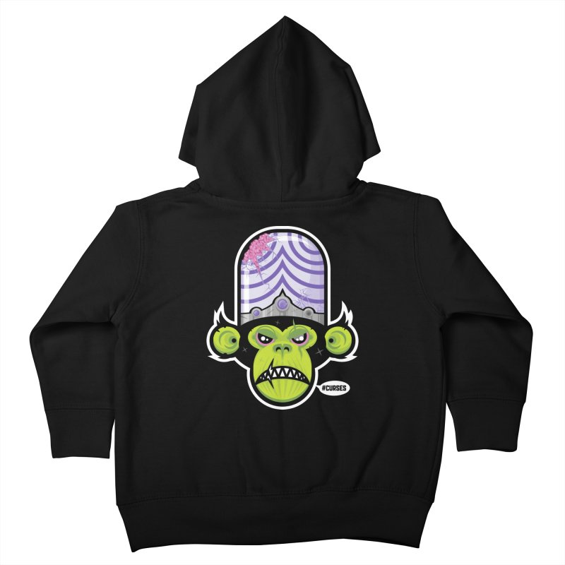 #CURSES Kids Toddler Zip-Up Hoody by pufahl's Artist Shop