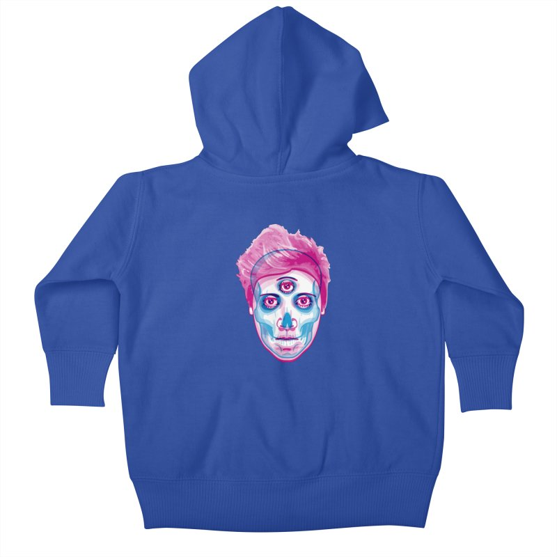 3rd Eye Kids Baby Zip-Up Hoody by pufahl's Artist Shop