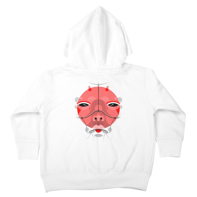 RoboGeisha Kids Toddler Zip-Up Hoody by pufahl's Artist Shop