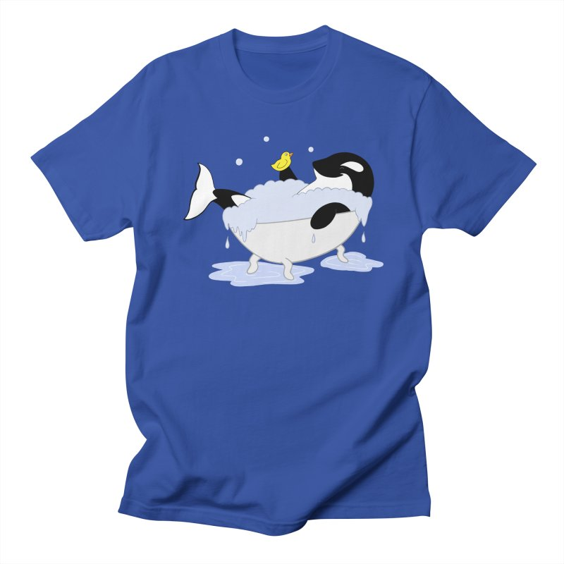 Killer Whale's Tubby Time Men's T-Shirt by puffinspictures's Artist Shop
