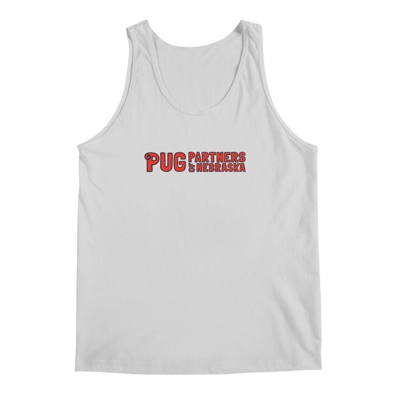 Classic Red Logo Men's Regular Tank by Pug Partners of Nebraska