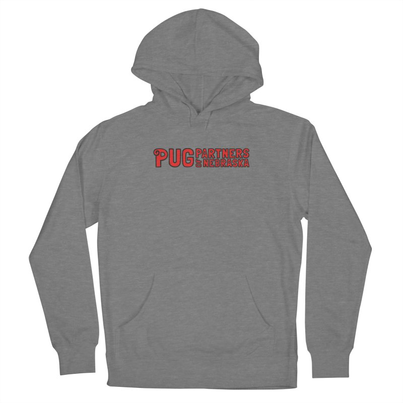 Classic Red Logo Women's Pullover Hoody by Pug Partners of Nebraska