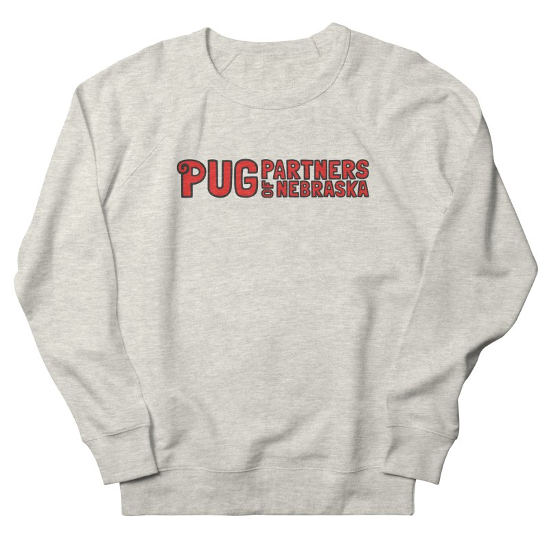 Classic Red Logo Women's Sweatshirt by Pug Partners of Nebraska