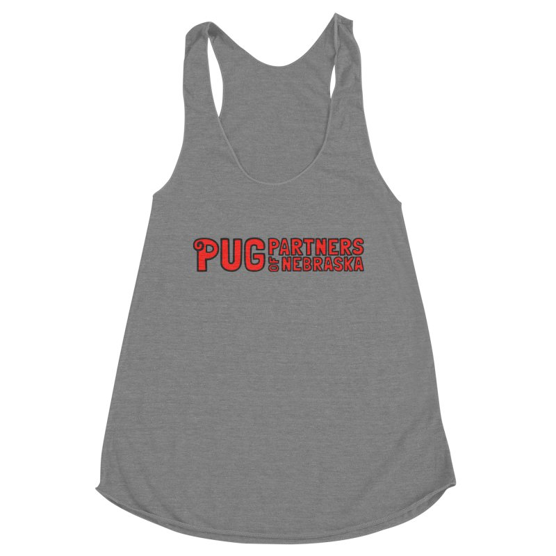 Classic Red Logo Women's Tank by Pug Partners of Nebraska