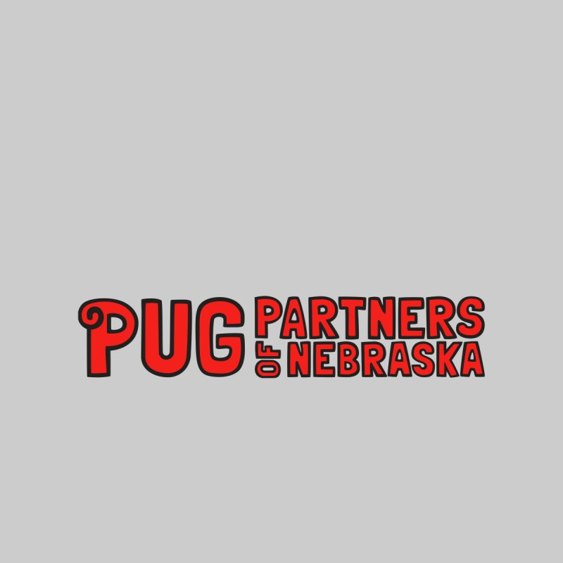 Classic Red Logo Men's Tank by Pug Partners of Nebraska