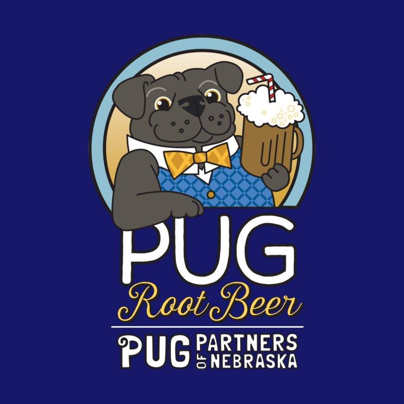 Pug Root Beer - Blue by Pug Partners of Nebraska