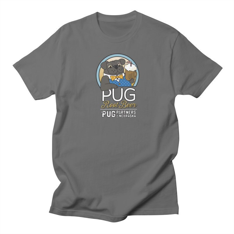 Pug Root Beer - Blue Women's T-Shirt by Pug Partners of Nebraska