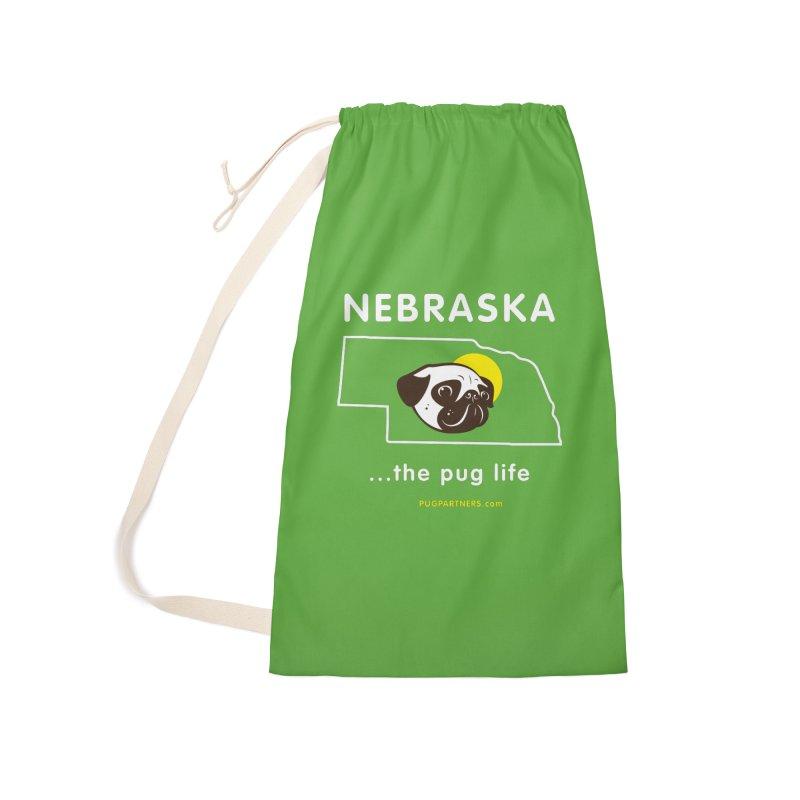 Nebraska: The Pug Life Accessories Bag by Pug Partners of Nebraska